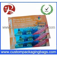 Best 2013 Promotion Fashion Custom Packaging Bags , Wet Wipes Packing Bags wholesale