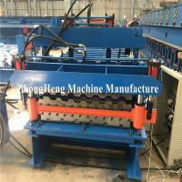 Best Double-deck Tile Roofing Sheet Roll Forming Machine hydraulic motor control wholesale