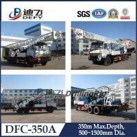 Best DFC-350A Hydraulic truck mounted water well drilling rig machine with mud pump wholesale