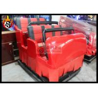 Cheap Hydraulic 7D Cinema System , 9 Individual Motion Chair with Special Effects for sale