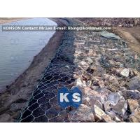 Best Coastal Protection Gabion Mesh Boxes with Double Twisted Hexagonal Wire Mesh wholesale