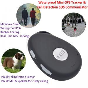 Best Mini Waterproof 3G GSM Personal GPS Tracker Locator Elderly Fall Detection SOS Communicator Alzheimer Keyring EV07 wholesale