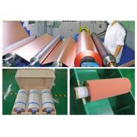 Best 500 - 5000 Meter 18um Copper Roll , High Ductility Adhesive Copper Foil Sheet wholesale