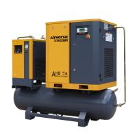 Best Factory Wholesale 8- 13bar Air Compressor 10hp Air Compressor mounted tank ,dryer for Roast Room wholesale