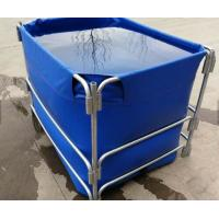 Best 1500L High Opacity Removable Fish Pond , Plastic Ponds For Fish Farming wholesale