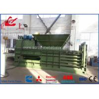 Best Horizontal Automatic Tie Waste Paper Baler With Conveyor Feeding , Bale Size 1100x1100mm wholesale