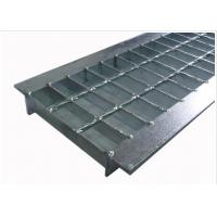 Best Anti Slip Outdoor Drain Grate Covers , Serrated Steel Trench Covers Grates wholesale