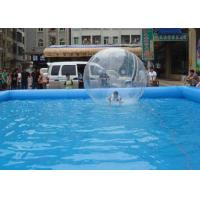 Best Durable PVC Inflatable Swimming Pool Flexible Edge For Outdoor Playing wholesale