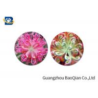 Best Home Decoration 3D Lenticular Coasters Cup Placemat Beautiful Flower Pattern wholesale