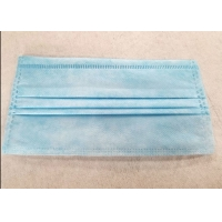 Best One Time Disposable 3 Ply Civilian Non Woven Fabric Earloop Mask wholesale
