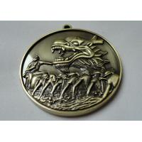 Best Custom Zinc Alloy / Pewter / Dragon / Brass Boat 3D Die Cast Medals for Souvenir Gift wholesale