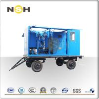 Best Transformer Oil Centrifuge Machine , Double Stage High Vacuum Oil Filter Machine wholesale