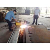Quality 2 - 20mm Portable CNC Cutting Machine / CNC Plasma Cutters 7.0 Inches LCD Display wholesale