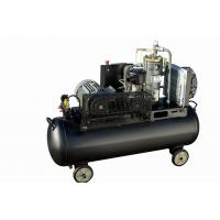 Best High quality customized 4kw small unit single phase tank mounted 8 bar screw belt driven air compressor wholesale