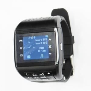 Best 2012 watch mobile phone MQ666A 3.2 megapixel HD camera GSM watch phone wholesale