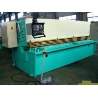 Best CNC Hydraulic Swing / Guillotine Beam Metal Shearing Machine For Construction Field wholesale