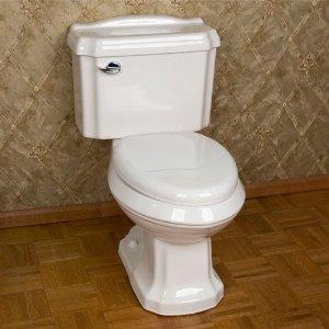 Cheap Elegant porcelain two-piece ceramic toilet bowl T-057 for sale