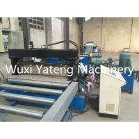 Gcr15 Material Cable Tray Roll Forming Machine With Conveyor Feeding 75mm Shaft Diameter