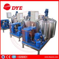 Best 500L Vertical CE Certificate dariy milk cooling tank with direct refrigeration wholesale