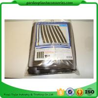 Best Multifunctional Garden Shade Netting / Plant Shade Cover For Plant Protect 1.8 * 2.1m Brown stripes wholesale
