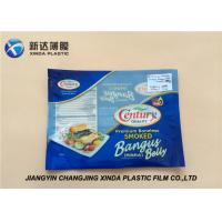 Best Oxygen Resistant 3 Side Heat Seal Plastic Bags for Sea Food Packaging CE / ROHS wholesale