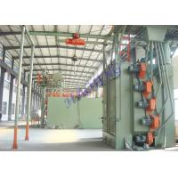 Single Hanger Industrial Shot Blasting Equipment For Casting Sand Removal / Shot Peening Machine