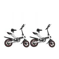12 Inch Leisure Portable Foldable Electric Bicycle Aluminum Alloy Frame