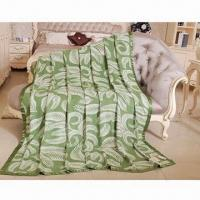 Best 100% bamboo blanket, available in solid color wholesale