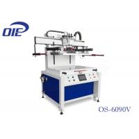 Best Dual Axis Motor Driven Flatbed Screenprinting Machine For Plastic Sheet wholesale