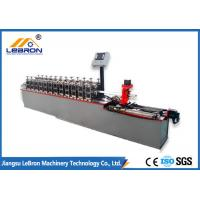 Best 5.5kW Drywall Ceiling Channel Roll Forming Machine 0.3 - 1.0mm Coil Thickness wholesale