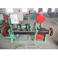 Best Double Twisted / Single Twisted Barbed Wire Machine Multi Function Low Noise wholesale