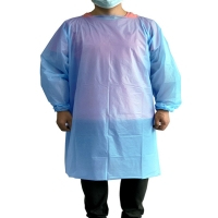 Best Hospital Protective CPE Disposable Isolation Gown With Long Sleeves wholesale