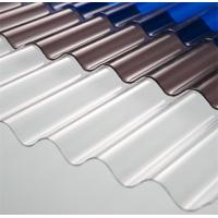 Best High Light Transmission Clear Corrugated Polycarbonate Sheets For Greenhouse wholesale