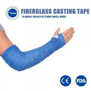 Buy cheap Medical Orthopaedic bone fixation bandage Casting Tape orthopedic Fibreglass Fracture Bandage from wholesalers