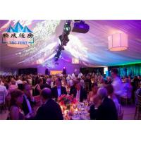 Best Air Conditioned Wedding Marquee Tent , Rain Proof Canopy Party Tent With Church Window wholesale