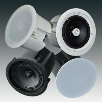 Best 8 Inch 12 Ohm Sound Column Array Speakers With Pivoting Tweeter , CE RoHS wholesale