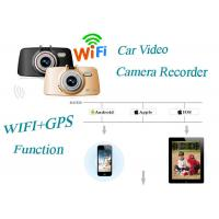 Best G-Sensor Full HD Car Video Camera Recorder Wide Angle WIFI Function AIT8247 wholesale