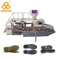 Cheap Kids Sports Shoe Sole Injection Molding Machine , TPR Sole Moulding Machine for sale