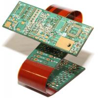 Buy cheap ISO Rigid Flex PCB Omron AOI/X- Ray Testing Service Immersion Gold Surface Finishing from wholesalers