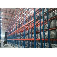 Quality Steel Q235B Heavy Duty Metal Shelving , Industrial Pallet Racks With CE Certificate wholesale