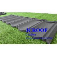 Best Economically Stone Coated Steel Roof  Tile 0.4mm thickness , Stone Coated Steel Shingles wholesale
