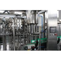 Quality Beverage / Pure Water Filling Machine 3 In 1 , Liquid Bottle Filling Machine 3000bph -15000bph wholesale