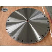 Best 20 , 30 , 42 Inch Laser Saw Cutting Blades For Reinforce Concrete With Protect Teeth wholesale