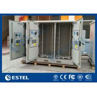 Quality Three Compartments Outdoor Street Cabinets Telecoms For Base Station / 4G System wholesale
