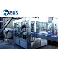 Best Carbonated Gas Sparkling Beverage Drink Beer Filling Machine PLC + Touch Screen Control wholesale