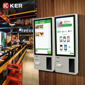 Best Wall Mount KER 21.5 24 Inch Self Service Ordering Kiosk wholesale