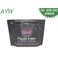 Buy cheap Medical Marijuana Packaging Bags With Child Proof Zipper , Child Proof Medicine StorageBags from wholesalers