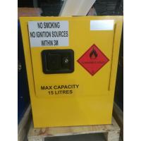Best Yellow Dangerous Goods Cabinets For Liquid , Industry Paint Safety Storage Cabinets wholesale