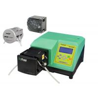 Quality Dispensing Peristaltic Liquid Dosing Pump Accuracy Green With Silicone Tubing wholesale