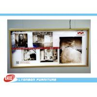 High End MDF Light Box / Wooden Display Accessory For Shopping mall